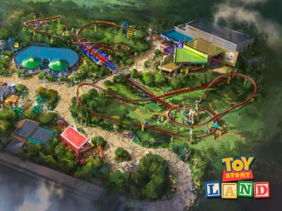 Toy Story Land at Walt Disney World to June 30, 2018