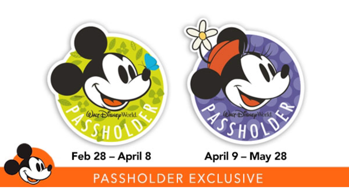 Passholder Exclusive Magnets During Epcot Flower & Garden