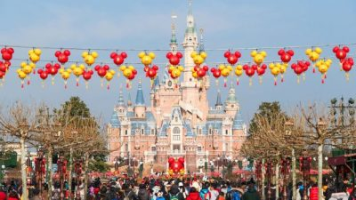 Shanghai Disney Resort Celebrates Chinese New Year