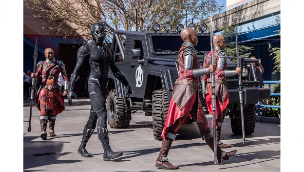 Black Panther Now Appearing at Disney California Adventure