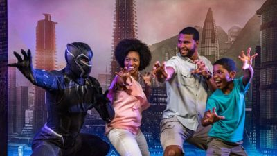 Meet Black Panther During Marvel Day at Sea Aboard the Disney Magic