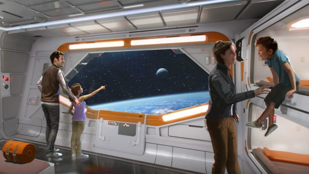 New Images of The Star Wars-Inspired Resort Planned for the Walt Disney World
