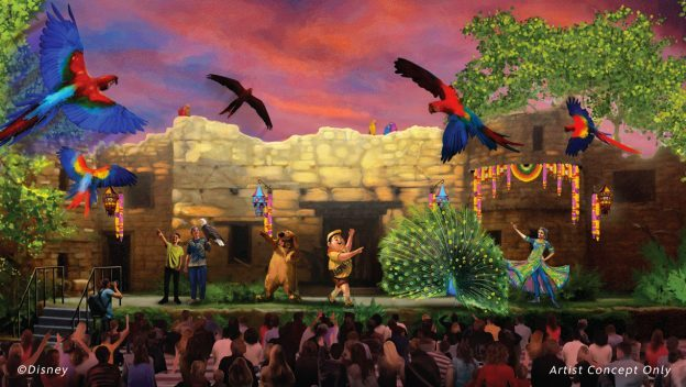 New 'UP! A Great Bird Adventure' Show at Disney's Animal Kingdom Opens April 22