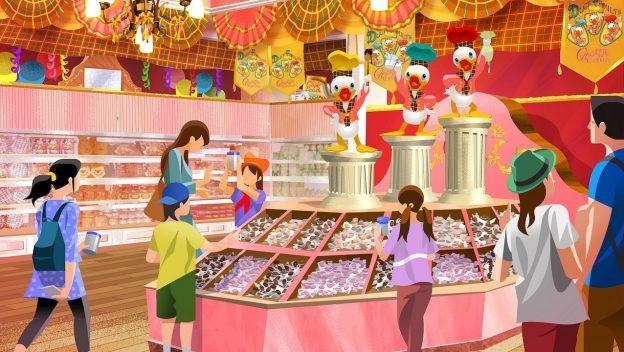 Tokyo Disney Resort Celebrates 35th Anniversary with New Chocolate Crunch Shops