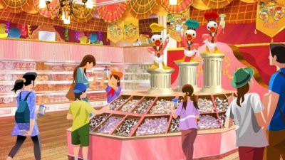 Tokyo Disney Resort Celebrates 35th Anniversary with New Chocolate Crunch Shops