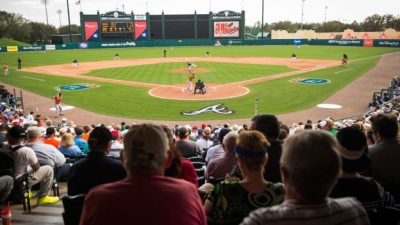 Braves Spring Training Games Begin Today at Disney
