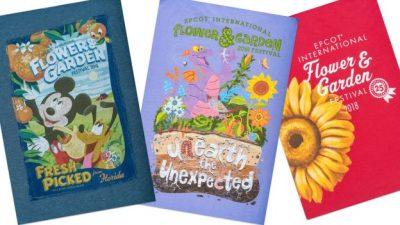 New Merchandise for 25th Epcot International Flower & Garden Festival