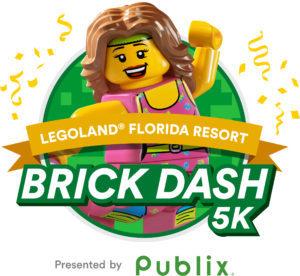 LEGOLAND Florida Brick Dash 5K Race Map