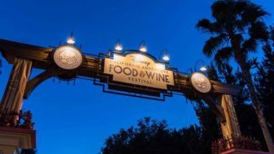 Disney California Adventure Food & Wine Festival Begins Today