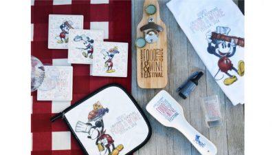 New Merchandise at Disney California Adventure Food & Wine Festival