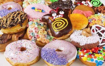 Sinfully Delicious Doughnuts at Voodoo Doughnut