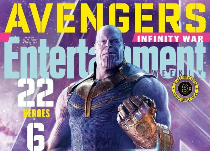Latest Issue of Entertainment Weekly is Overload of Avengers Infinity War