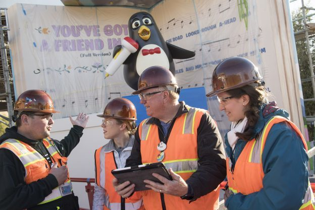 Wheezy Arrives at Toy Story Land at Disney's Hollywood Studios