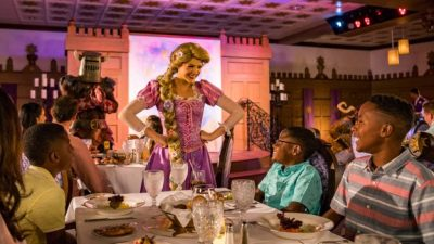 First Look at the New Rapunzel's Royal Table on the Disney Magic