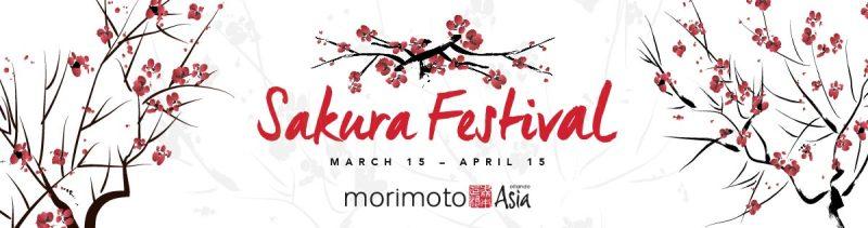 Morimoto Asia Celebrates Spring with First Annual Sakura Festival