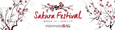 Morimoto Asia Celebrates Spring with First Annual Sakura Festival