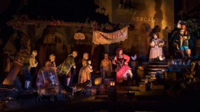 Pirates of the Caribbean Re-Opens at Magic Kingdom with New Auction Scene