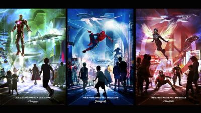 Avengers and Other Super Heroes to Assemble in New Themed Areas at Disneyland Resort, Disneyland Par