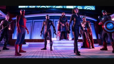 Meet Marvel Super Heroes During Marvel Day at Sea