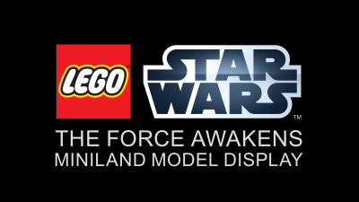 'The Force Awakens' MINILAND Model at LEGOLAND Florida