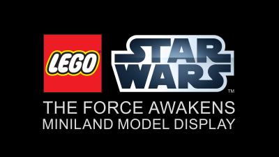 'The Force Awakens' MINILAND Model at LEGOLAND Florida