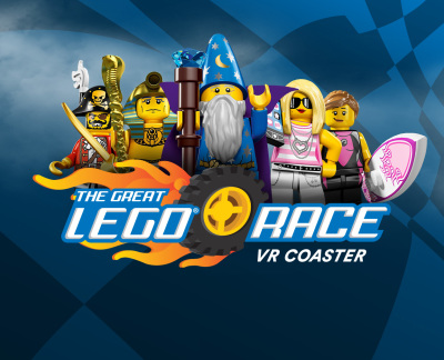 The Great LEGO Race VR Coaster Now Open at LEGOLAND Florida Resort