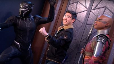 Meet Black Panther at Disney California Adventure
