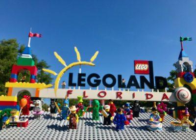 LEGO Minifigure 40th Anniversary Scavenger Hunt at LEGOLAND Florida