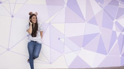 New 'Purple Wall' Unveiled in Tomorrowland at Magic Kingdom