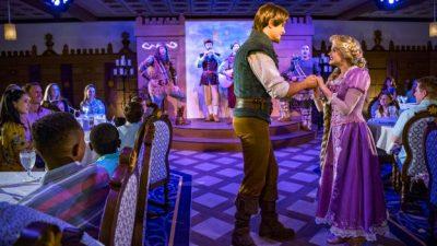 Enchanted Dining Awaits at Rapunzel's Royal Table Aboard the Disney Magic