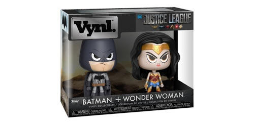 Batman & Wonder Woman Vynl.! Coming Soon