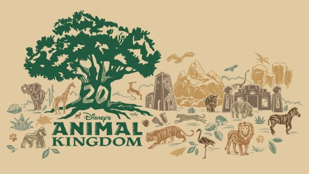 Disney's Animal Kingdom 20th Anniversary Merchandise Collection