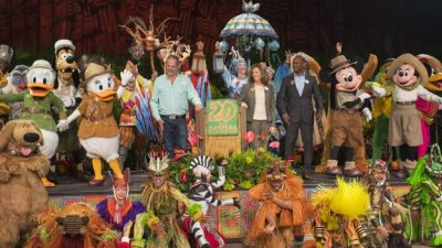 Replay The Disney's Animal Kingdom Anniversary Celebration Now