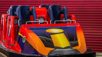 New Incredicoaster Trains at Disney California Adventure Park