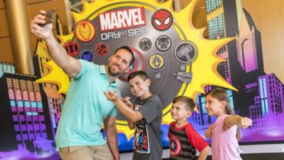 Gearing Up for Marvel Studios' 'Avengers: Infinity War' with Memories of Marvel Day at Sea