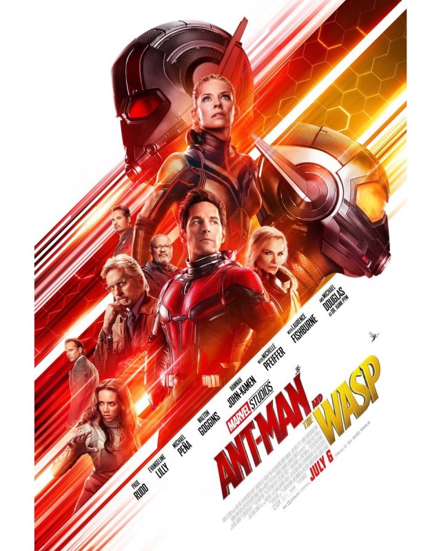 Newly Released Poster for Ant-Man and the Wasp