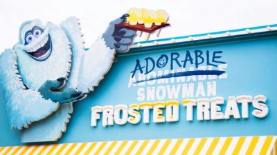 Adorable Snowman Frosted Treats Now Open at Disney California Adventure
