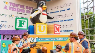 Imagineers Bring Wheezy To Life at Toy Story Land