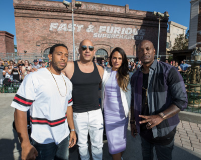 Fast & Furious Stars Celebrate Opening of Fast & Furious - Supercharged