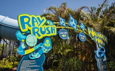 Ray Rush Opens May 12 at Aquatica Orlando