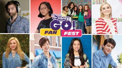 Meet Favorite Disney Channel Stars During 'Disney Channel GO! Fan Fest' at Disneyland