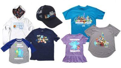 Exclusive Pixar Fest Merchandise at the Disneyland