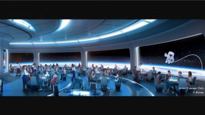 Space-Themed Restaurant Lands in Future World at Epcot