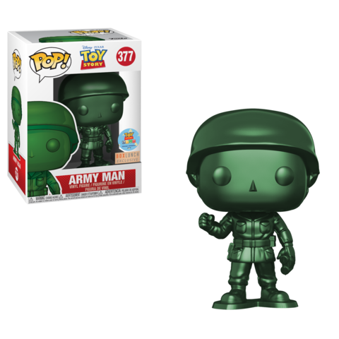 BoxLunch Exclusive Metallic Army Man Pop!