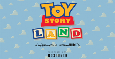 The Toy Story Land Mall Tour powered by BoxLunch