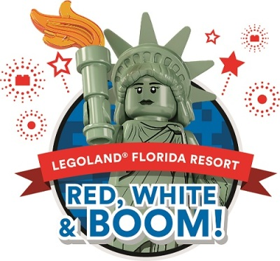 Celebrate America's Independence at LEGOLAND Florida's Red, White & Boom!