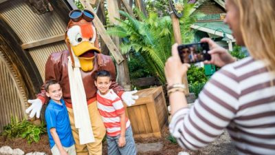 A Look Inside Donald's Dino-Bash! Celebration