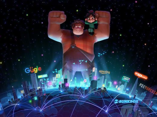 First Photos of Yesss, KnowsMore and Disney Princesses in 'Wreck-It Ralph 2'