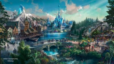 New Renderings of Hong Kong Disneyland's Multi-Year Expansion Plan