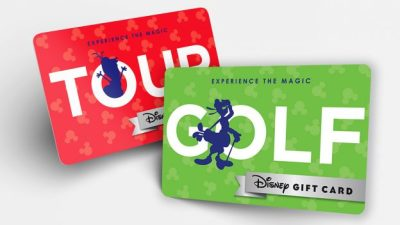 """New """"Experience the Magic"""" Gift Cards"""